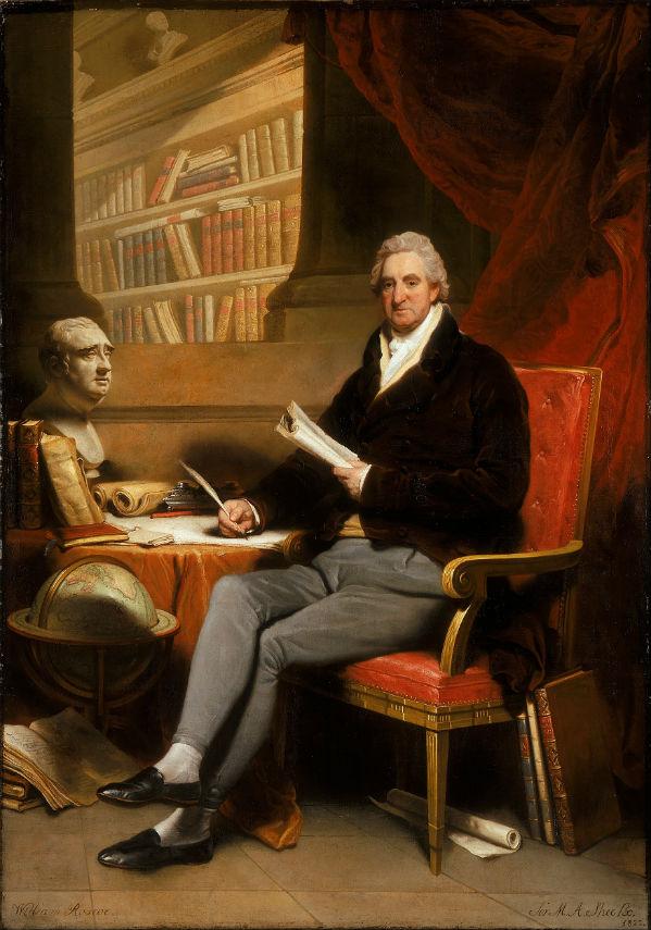 William Roscoe, Martin Archer Shee, 1822