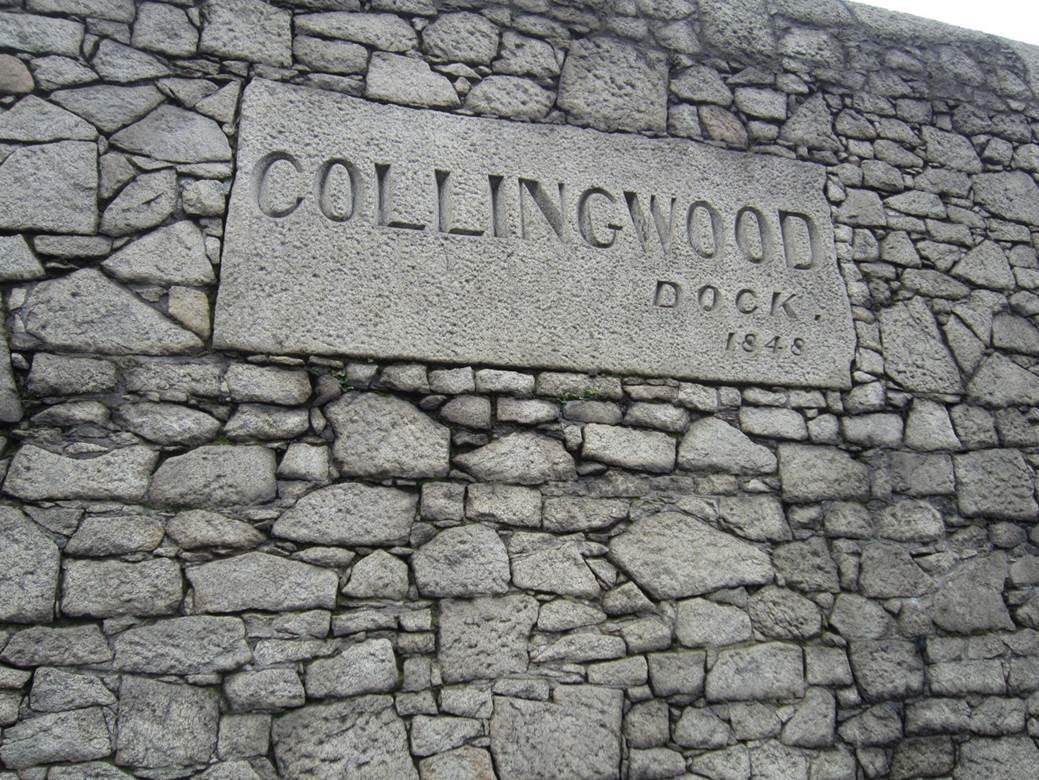 Collingwood Dock 1848